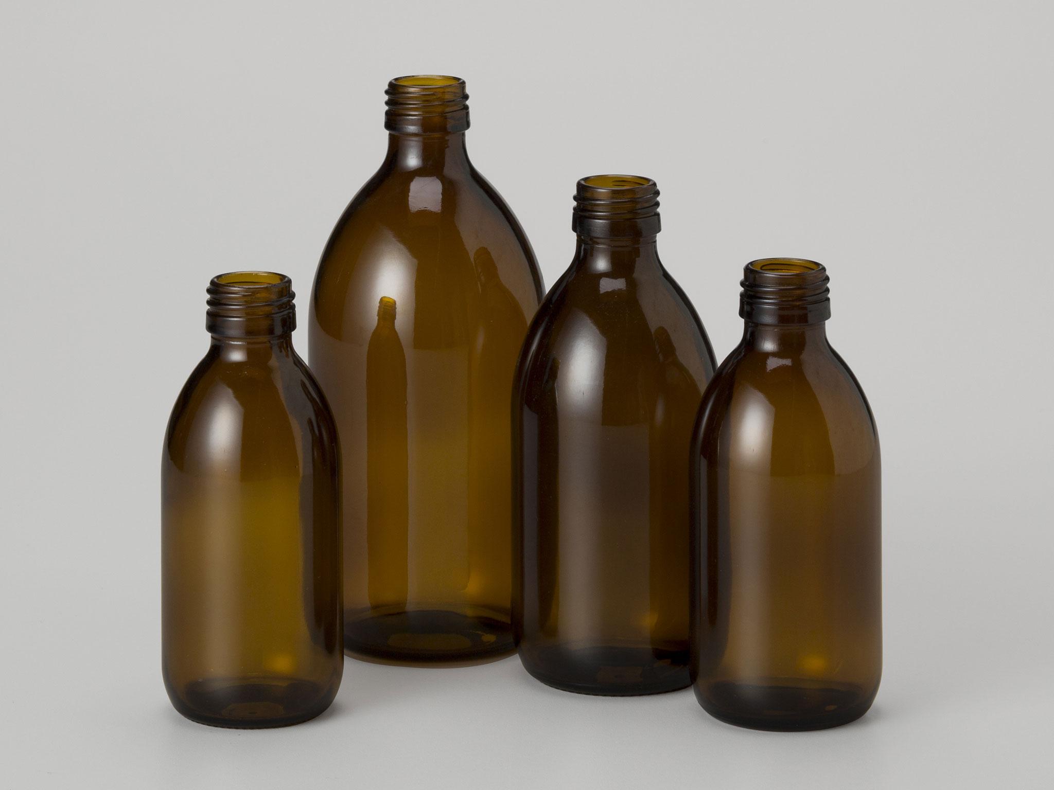 Ml Glass Bottle Mm Ropp