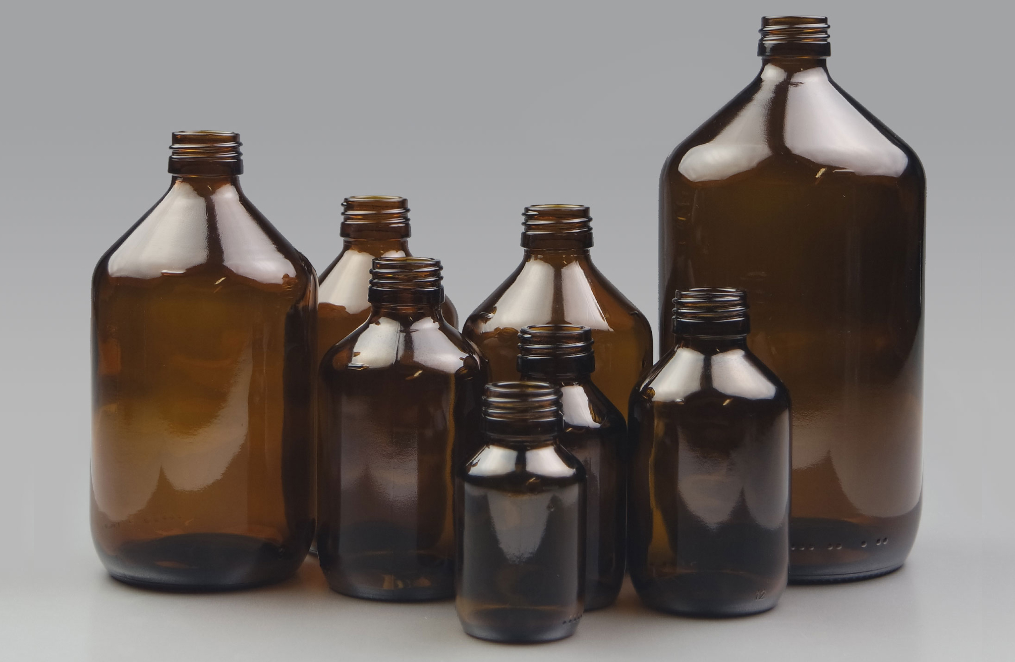 Glass Veral Bottle