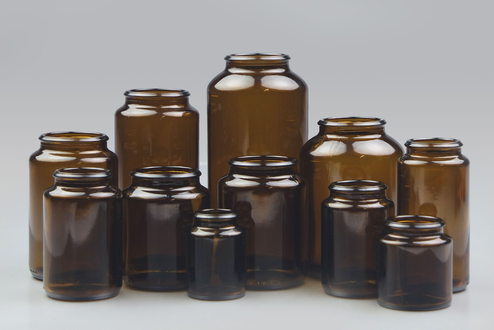 Glass Pharma Jar