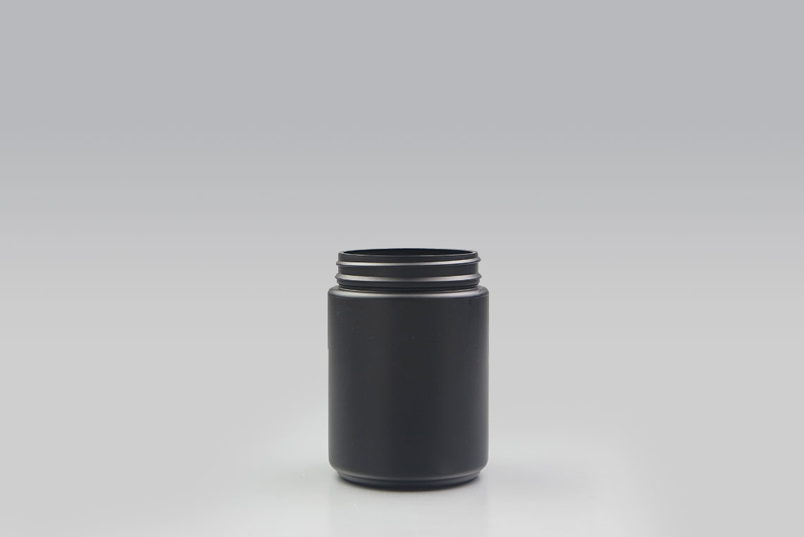 Hdpe wide mouth jar ml with tamper evident pano neck