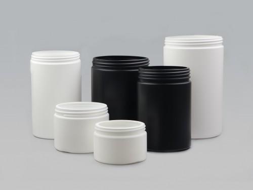 HDPE Cylindrical Jar